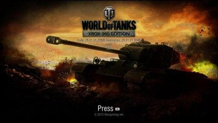 World of Tanks X360 version Test et Gameplay bêta