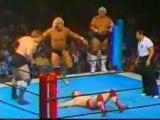 Hulk Hogan & Stan Hansen vs Bob Backlund & Dusty Rhodes (1ère partie)