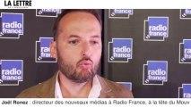 """Joël Ronez : """"l'avenir du numérique à Radio France doit être un succès!"""""""