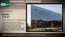 A louer - Bureaux - SAINT JACQUES DE LA LANDE (35136) - 574m²