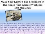 Granite Worktops East Midlands