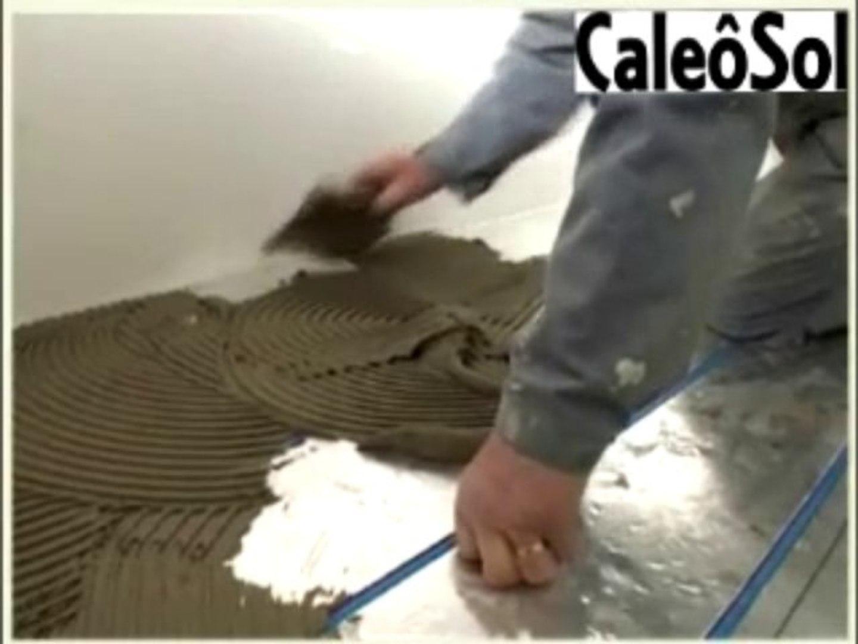 Carrelage Sur Plancher Chauffant Basse Temperature pose plancher chauffant caleosol sans chape sans béton