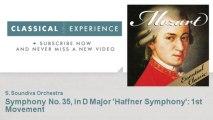 Wolfgang Amadeus Mozart : Symphony No. 35, in D Major 'Haffner Symphony' : 1st Movement
