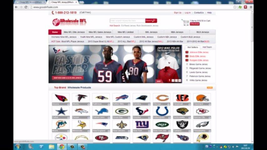 Cheap NFL Jerseys|Wholesale NFL Jerseys|New Nike NFL Jerseys 2013