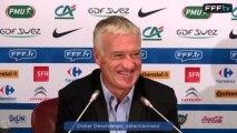 Conférence de presse de Didier Deschamps (29 août 2013)