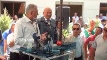 Ulaştırma, Denizcilik ve Haberleşme Bakanı Binali Yıldırım Çandarlı'yı Ziyaret Etti