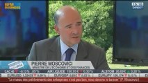 Pierre Moscovici, ministre de l'Économie et des Finances, dans l'invité de BFM Business –- 29/08 6/6