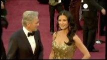 Oscar winners Michael Douglas and Catherine Zeta-Jones...
