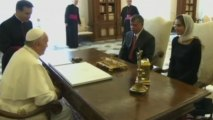 """Pope, Jordanian king agree dialogue """"only option"""" in Syria"""