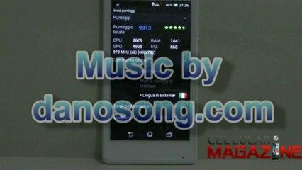 AntuTuBenchmark su Sony Xperia M