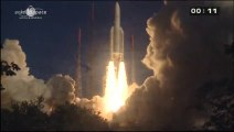 [Ariane 5] Launch of Eutelsat 25B & GSAT-7 on Ariane 5 Rocket (VA-215)