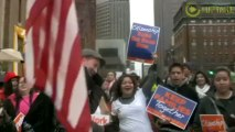 May Day Marchers Demand Immigration Reform