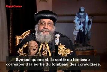 Message du Pape Tawadros II à l'occasion de Pâques 2013 [FR]