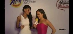 Premios TVyNOVELAS - Danna entrevista backstage