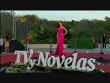 Danna García en la Alfombra Roja de Premios TVyNovelas