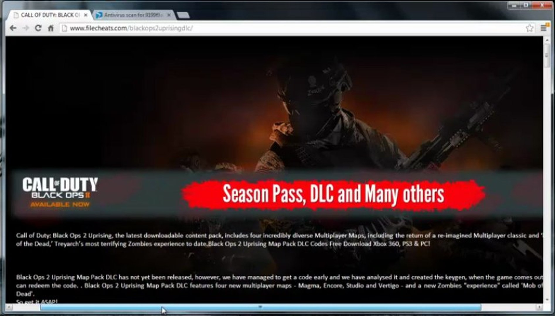 Black Ops 2 Uprising Redeem Codes Free Giveaway Xbox 360 Download