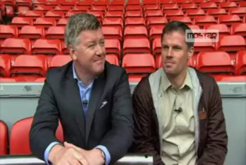 Interview with Jamie Carragher 05-05-13