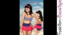 Vintage Bandeau Bikini – Vintage Push-Up Bikini – Vintage Monokini!