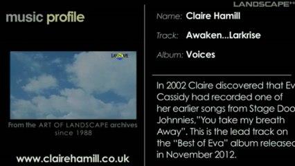 Claire Hamill Music Profile