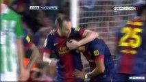 T12/13 J34 Liga BBVA: FC Barcelona 4-2 Real Betis (RAC1)