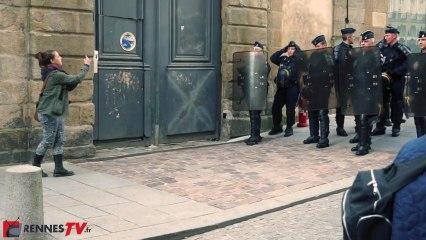 """""""Manif pour tous"""" et contre-manifestation le 5 mai à Rennes : une tension à son paroxysme"""