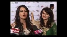 *HD* *Drashti Dhami* DD at the ITA Red Carpet speaking to media Bollywood Camera Segment 06/05/2013