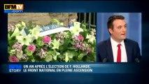 BFM STORY: Un an après l'élection de François Hollande, le FN en pleine ascension - 06/05