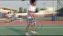Coach Humayun tennis video