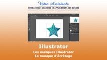 Les masques Illustrator - Le masque d'écrêtage (2/2)