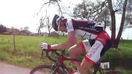 Tour du Chablais 2013 - Frédéric Talpin (VC Caladois) file vers la victoire