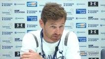 Andre Villas-Boas pre Chelsea vs Tottenham