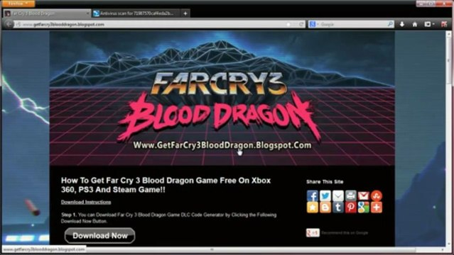 How to Download Far Cry 3 Blood Dragon DLC Code Free on Steam - Tutorial
