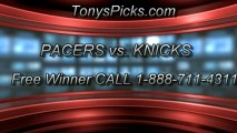 New York Knicks versus Indiana Pacers Pick Prediction NBA Playoffs Game 2 Lines Odds Preview 5-7-2013