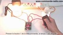 Interrupteur Sans Fil/Interrupteur Sans Fil/Kit Émetteur Récepteur Sans Fil 9V 12V 24V 2 Canaux - Mode de Contrôle TriggeringSans Fil 9V 12V 24V 2 Canaux - Mode de Contrôle Triggering