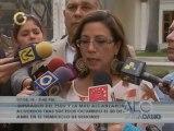 "Parlamentaria Tania Díaz: Rechazaremos la violencia ""venga de donde venga"""