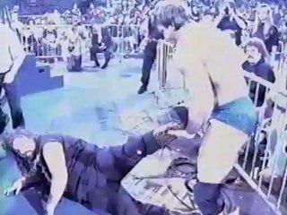 60. 93-02-21 Cactus Jack vs. Paul Orndorff (Falls Count Anywhere - SuperBrawl III)
