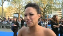 Fast & Furious 6 premiere: Michelle Rodriguez interview