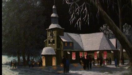 Une chapelle sur toile à Honfleur