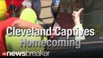 DEVELOPING: 2 of the 3 Cleveland Captives Return Home; Avoid Crush of Cameras