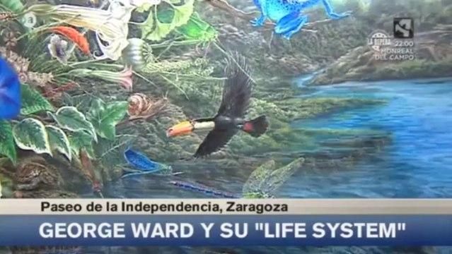 Exposición de Georges Ward, Life System.