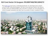 Dlf The Crest Sector 54 Dlf The Crest 9910007460 Dlf the Crest Gurgaon  Dlf Crest  Dlf The Crest Sector 54 Gurgaon