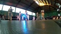 Shorinji Kempo à la soirée arts martiaux de Jouy le Moutier en 2013 - 1ère partie
