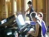 2 virtuoses dans les salons du Grand Théâtre Opéra de Bordeaux