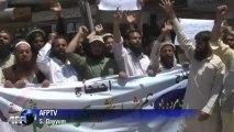 Manifestation anti-Indienne au Cachemire pakistanais