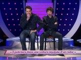 Arnaud Tsamere et Ben –   « 2 policiers dans une voiture équipée d'un radar »