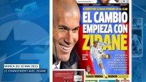 Un nouveau défi pour Zinedine Zidane !