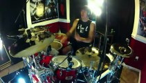 Drum Battle - Drums vs Black Ops 2 Guns - Drums Solo & Gun Solo (300th Video)
