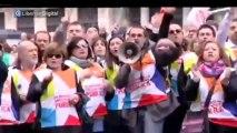 """El acoso a sus excompañeros de los despedidos de Telemadrid: """"¡Hijo de puta, fascista!"""""""