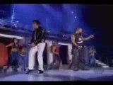 Micheal jackson and usher dancing