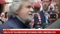 Roma_10-5-2013 Beppe Grillo intervistato da SkyTG24
